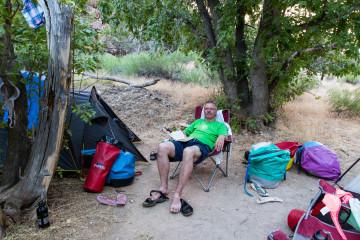 27.7. Relaxen im Camp