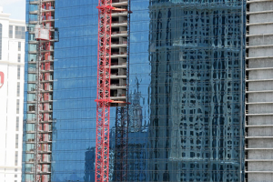 Las Vegas - es wird jede Menge gebaut.