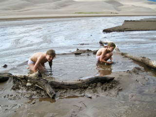 21.-24.7. Great Sand Dunes - Medano Creek