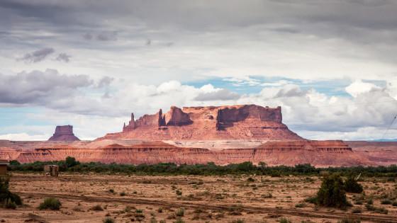 2.8. Navajo Land - unterwegs auf #191