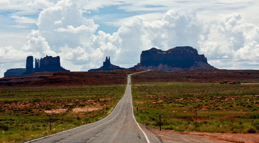 3.8. unterwegs zum Monument Valley