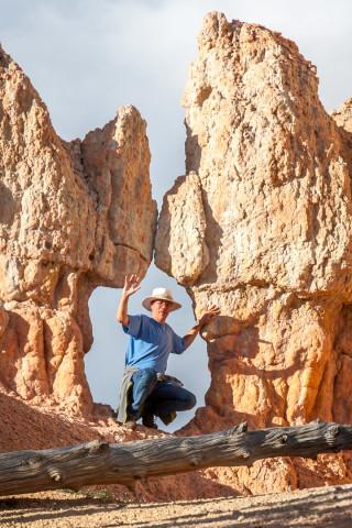 8.8. Bryce Canyon - Rim Wanderung
