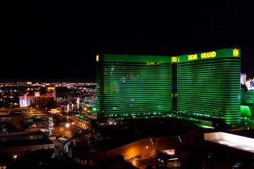 11.-13.6. Las Vegas - MGM by night