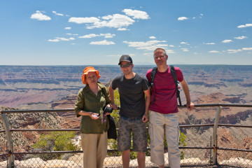 14.-16.6. Grand Canyon - Cape Royal