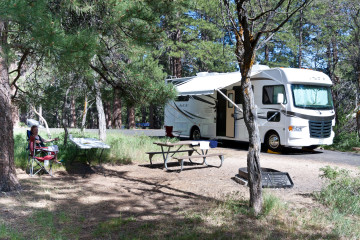 14.-16.6. Grand Canyon - Campground-Idylle
