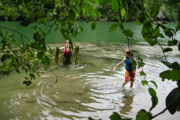 13.7. Mendocino - Big River Kanu Tour