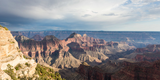 27.7. Grand Canyon North Rim - Bright Angel Canyon