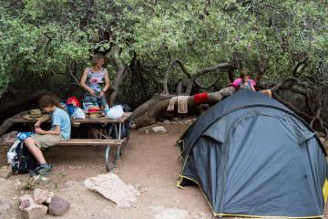 30.7. Cottonwood Campground