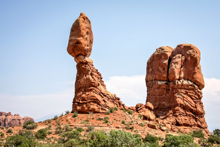 Arches NP:  Balanced Rock