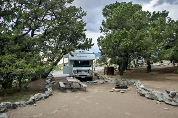 22.-24.7. Pinyon Flats CG, Great Sand Dunes