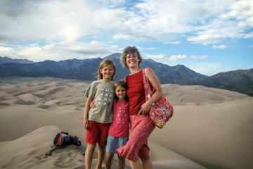 22.-24.7. Great Sand Dunes - High Dune Besteigung