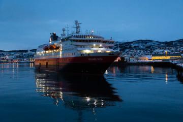 12.2. MS Richard With, Hurtigruten, in Harstad