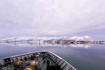 12.2. Hurtigruten, Harstad-Svolvaer, Risoyhamn