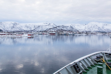 12.2. Hurtigruten, Harstad-Svolvaer, Stokmarknes