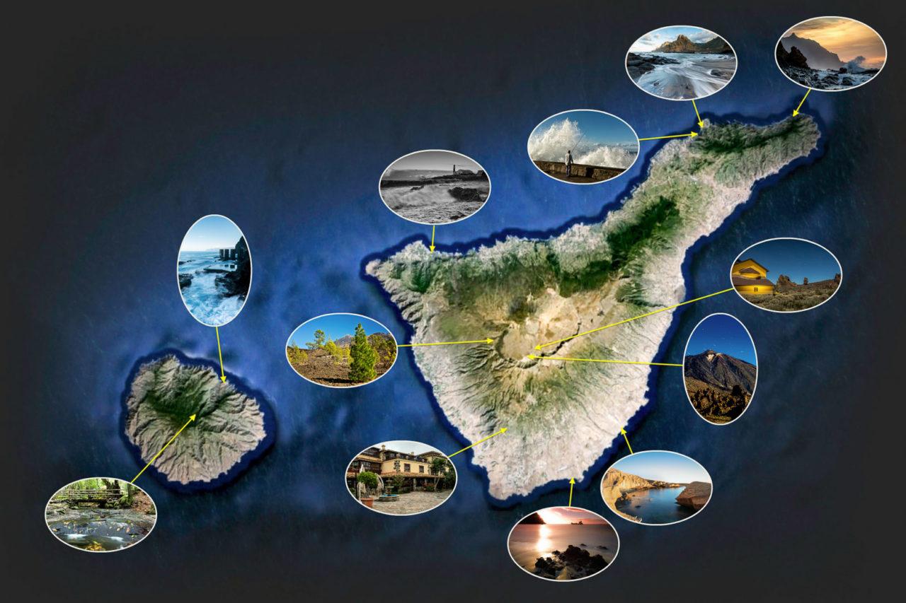 8.-15.11.: Locations des Fotoworkshops auf Teneriffa