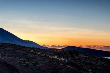 9.11. Sonnenuntergang, beim Observatorium