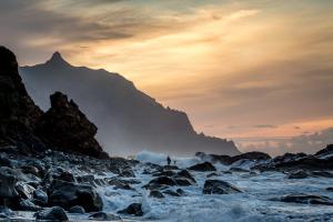 13.11. Sonnenuntergang Benijo Beach