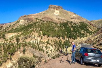 14.11. Timelapse Corona Forestal, Teide