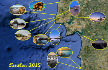 20.-27.9.2015: Locations des Fotoworkshops Lissabon