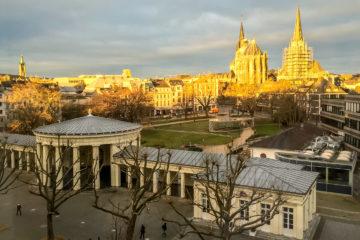 29.1.2016 Aachener Dom bei Sonnenaufgang