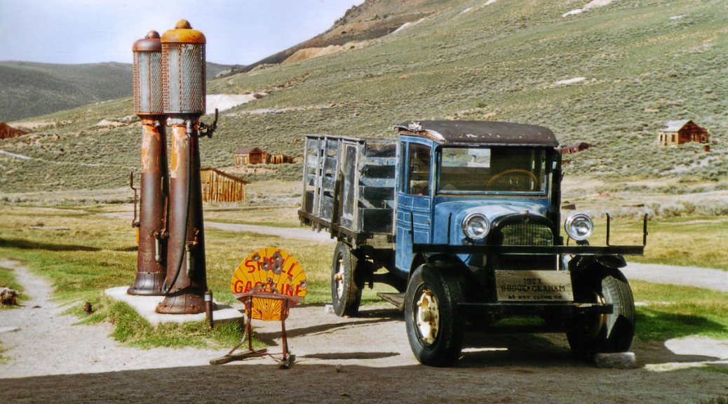 Tankstelle in Bodie