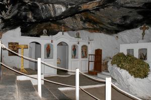 Höhle von Milatos - die Kapelle