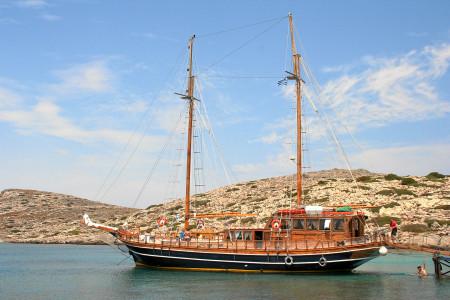 Piratenausflug von Iraklion zur Insel Nisos Dia.