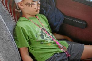 Auf der Rückfahrt schliefen alle 25 Kinder ;-)