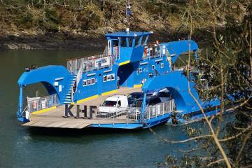 9.8. - King Harry Ferry