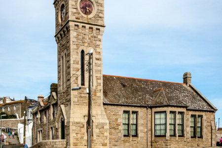 9.8. - Porthleven, Clock Tower