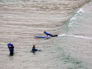 5.4.: Wellenreiten