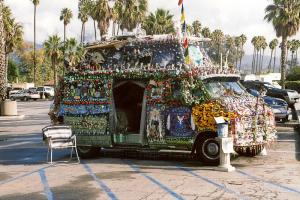 Künstler in Santa Barbara.