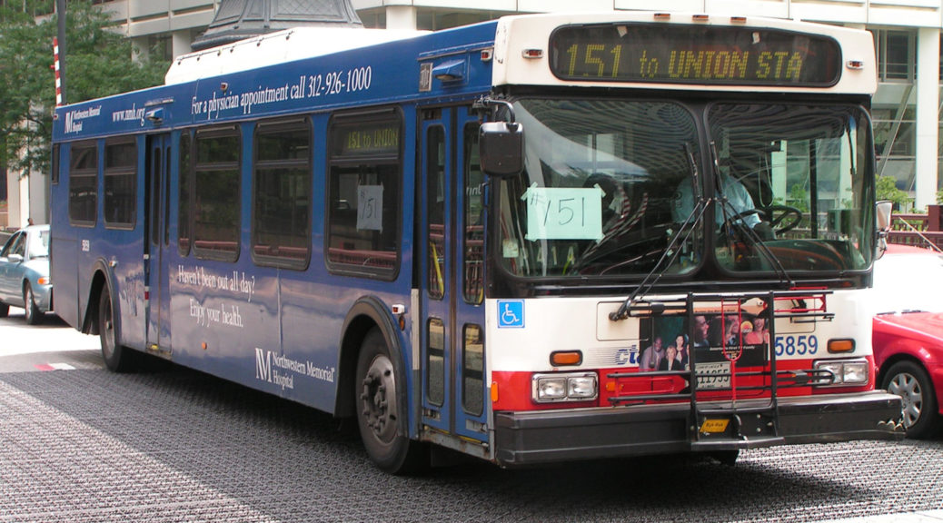 Der Bus zur Union Station