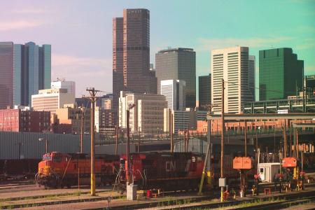 Einfahrt in Denver