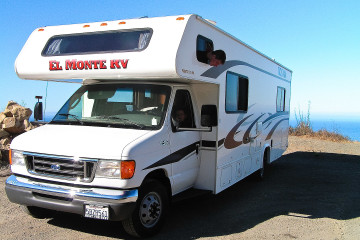 Das ElMonte-30-Fuß-Wohnmobil