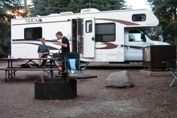Lassen Volcanic N.P. - Campground