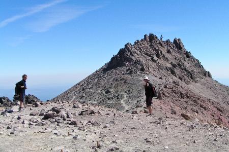 Auf dem Lassen Peak - noch 200 Höhenmeter