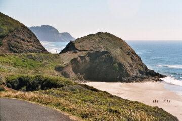 Oregon - eine der vielen Buchten am Pazifik