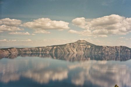 Crater Lake - unwirkliche Farben