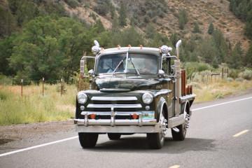 Unterwegs am Highway 26, Oregon
