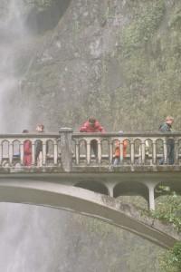 Multnomah Falls am Columbia River