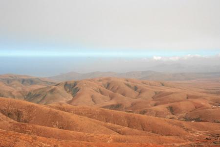Wüste im Westen von Fuerteventura