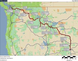 USA 2006: Vancouver nach Denver mit dem Wohnmobil, danach noch 5 Tage New York.