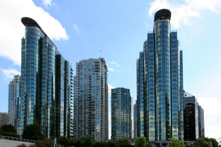 Vancouver: Appartments mit Hafenblick