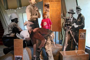 Lake Roosevelt: Museum am Damm