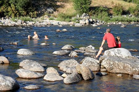 Idaho, Hwy #12, im Lochsa River