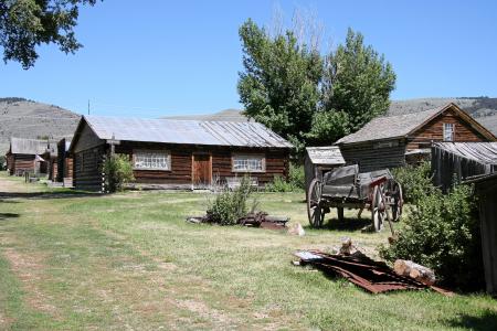 Nevada City - aus ganz USA zusammengetragenes Museumsdorf
