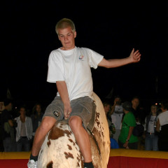 Cody: Kids-Rodeo ;-)