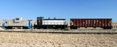 Railroad, Shoshoni, Wyoming