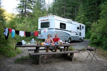 Wilderness Gateway Campground, Idaho